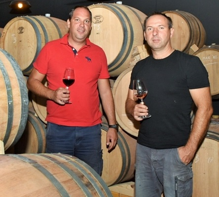 Won three medals at Decanter - owners of Degarra Winery from Zadar, Mate Pestić and Dane Šulentić